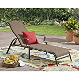 Wesley Creek Sling Chaise Lounge (Brown)