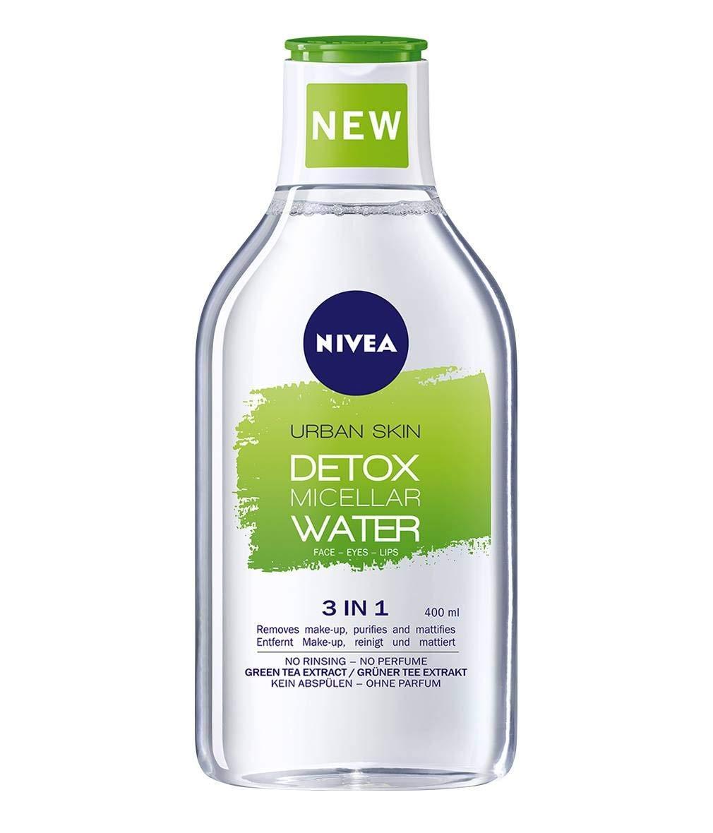 Nivea Urban Skin Detox Micellar Water all-in-1 make up remover - Combination/Oily Skin 400 ml