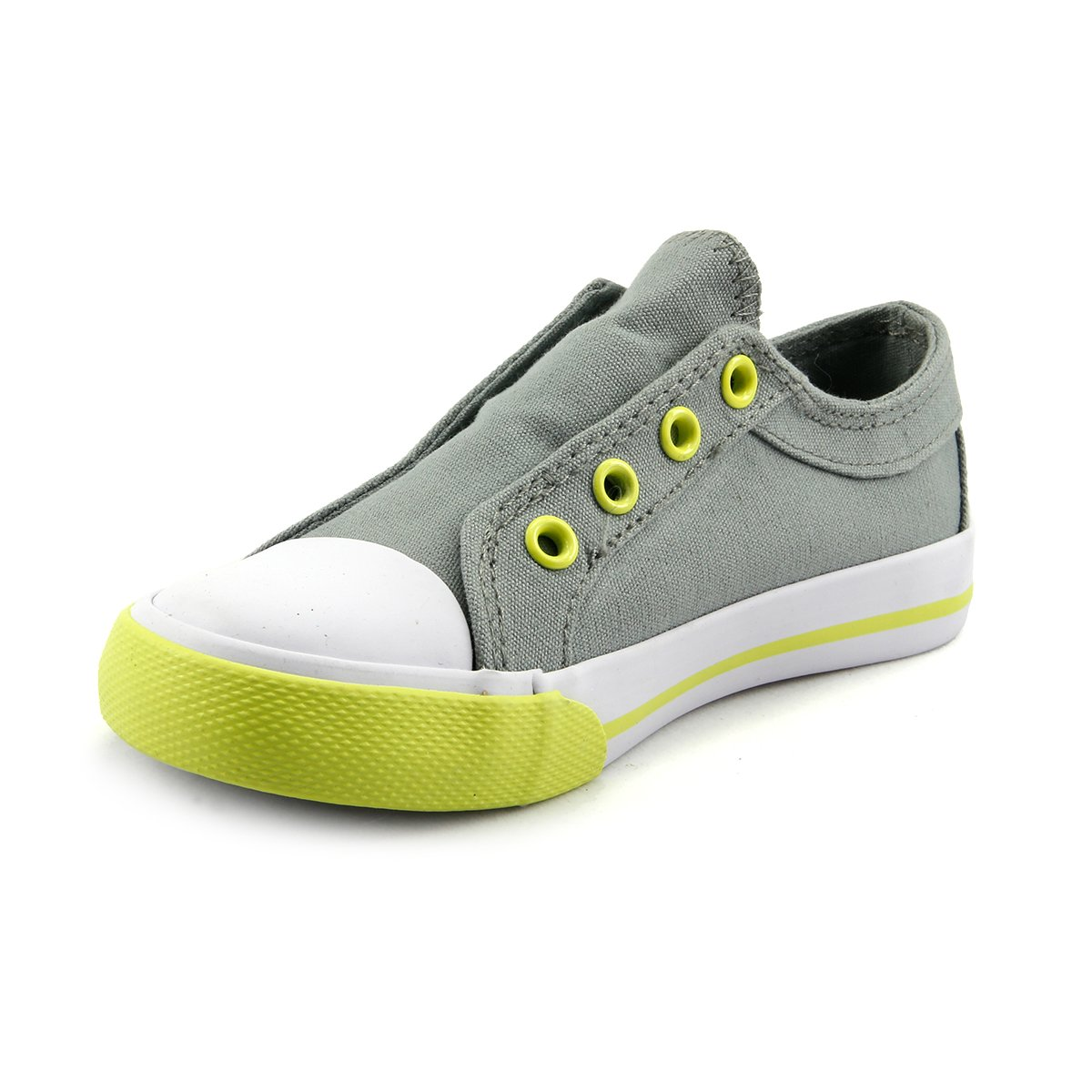 Unisex Boy/'s Girl/'s Slip On Cotton Canvas Sneaker Shoes Youth Size
