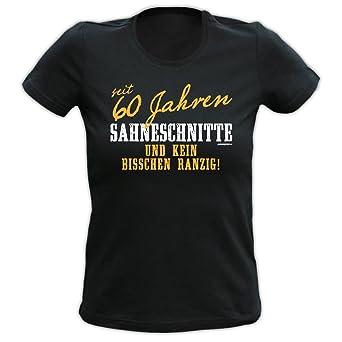 Camiseta de 60 cumpleaños para mujer/mujeres: desde 60 años ...