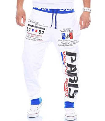 127356c03c6 CINC - Jogging homme sportswear Jogging 631 blanc fashion - XXL - Blanc