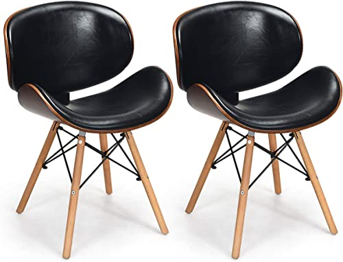 COSTWAY Set of 2 Dining Chair