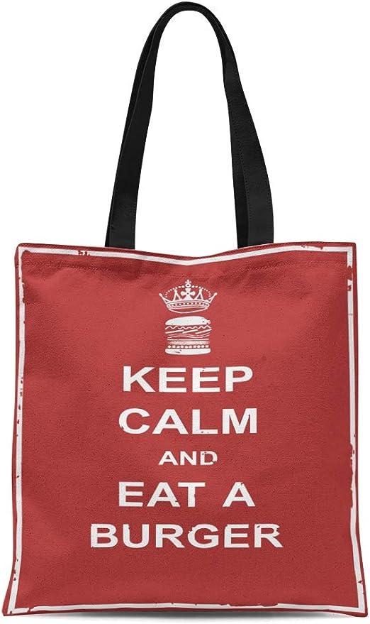 Tote KEEP CALM AND READ A BOOK NATURAL COTTON SHOULDER BAG shopper,shopping