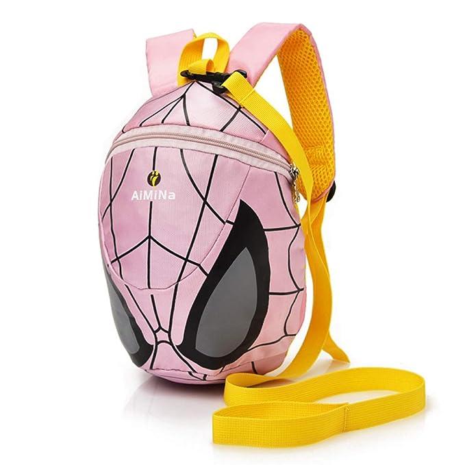 Spider-Man Mochila Escolar Para Niños Adolescentes Ligeros Mochilas Para Niños Y Niñas Bolsas Escolares De 0-3 Años: Amazon.es: Ropa y accesorios