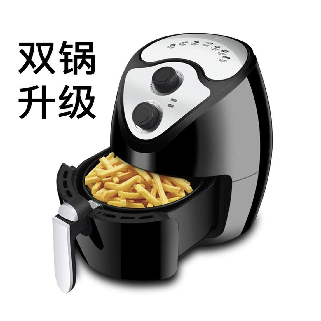 Electric Oven, Electric Fryer, air Fryer, French Fries Machine, Empty Fryer (European Standard (220-240V))