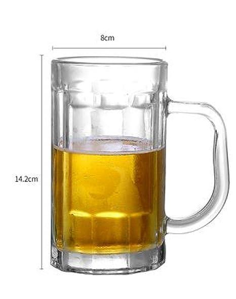 QINDONGKAI Vasos De Cerveza Tazas De Cerveza Gran Capacidad ...