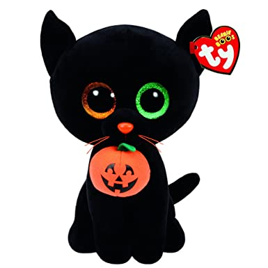 Amazon.com  Claire s Girl s TY Halloween Beanie Boos Shadow the Cat ... bfe7f8252