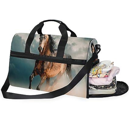 908051cc89af Amazon.com | Travel Tote Luggage Weekender Duffle Bag, Gallery ...