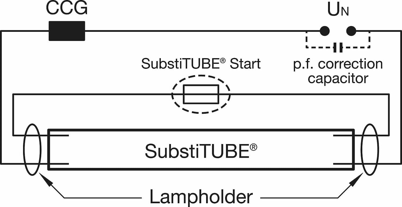 OSRAM LED-Roehre SubstiTUBE PURE 9Watt