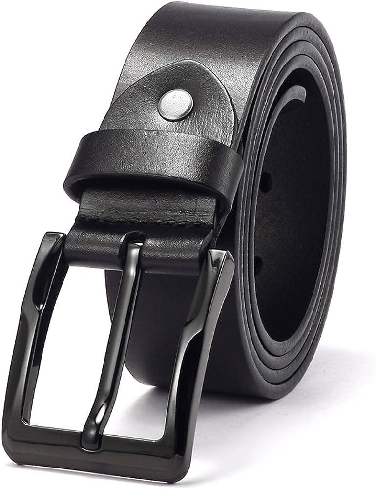 Youth Minimalist Belt Men Pin Buckle Fashion Belts