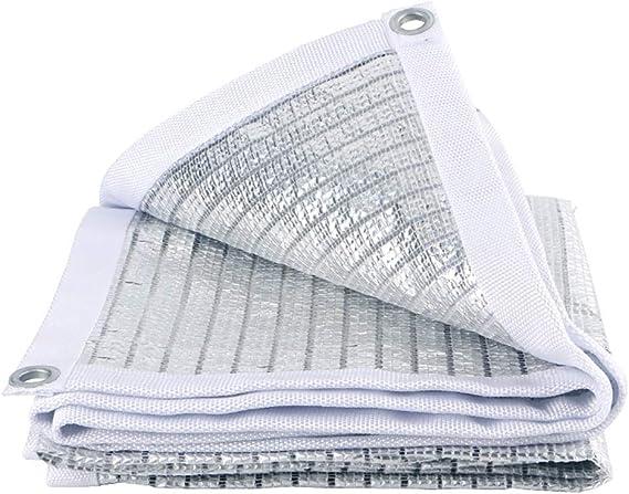 Malla de Sombra Paño De Protección Superior para Pérgola De Techo De Jardín, Papel De Aluminio Reflectante Que Sombrea La Red con Ojales De Metal, 150 G/M² (Size : 2x3M): Amazon.es: Hogar