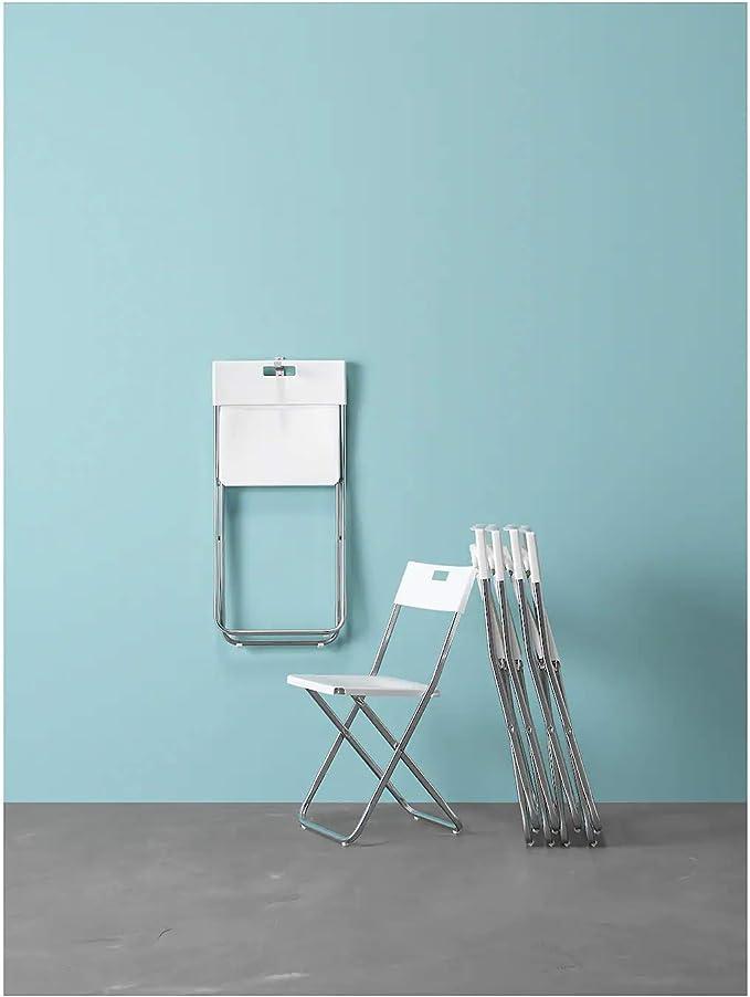 Gunde - Silla Plegable, Color Blanco