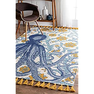 61S7CYOBv3L._SS300_ 50+ Octopus Rugs and Octopus Area Rugs