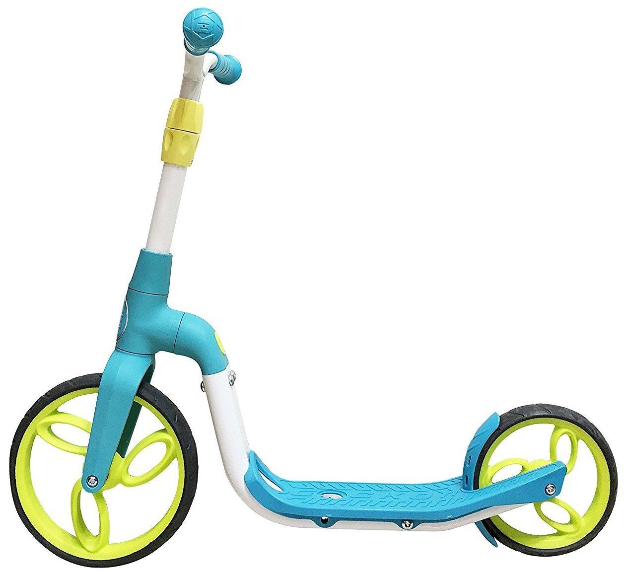 SportPlus - Trottinette 2 en 1 - Adapté e pour les jeunes Enfants en tant que Vé lo sans Pé dale - Adapté e pour les plus Grands en tant que Trottinette - Longue Duré e de vie et Ré sistante - Plusieurs Coloris dis