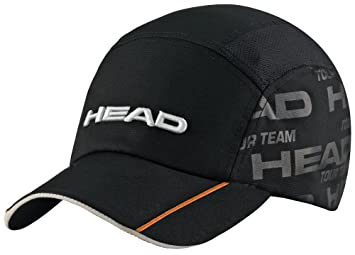 Head - Gorra pádel tour team functional cap -, color negro: Amazon ...