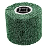 Uxcell Grit 180 Non-Woven Abrasive Grinding Flap Wheel, 118mm x 20mm x 100mm