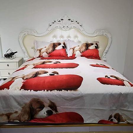 Copripiumino Matrimoniale Con Animali.Keepmore Biancheria Da Letto Per Gatti 3d Con Animali Da Compagnia