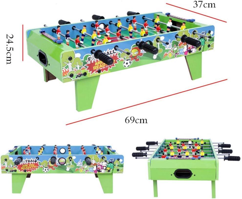 Lcyy-game Mini Mesa futbolín, Mini Mesa de Hockey de Aire y Mini Mesa de Billar Mesa Mesa para niños fútbol Mesa de Juego de Interior & al Aire Libre fútbol Juego niños