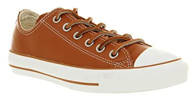 8d9b6c4d3aaccf Image Unavailable. Image not available for. Colour  Converse All Star  Leather Ox Low Tan brown ...