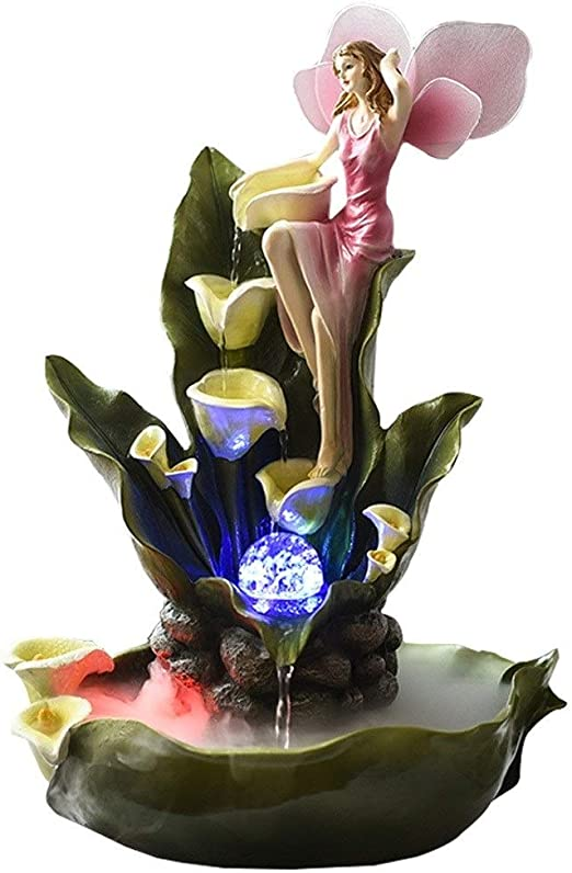 Crystal Bouquet Fountain fall Bouquet  compact crystal  all colours  see video