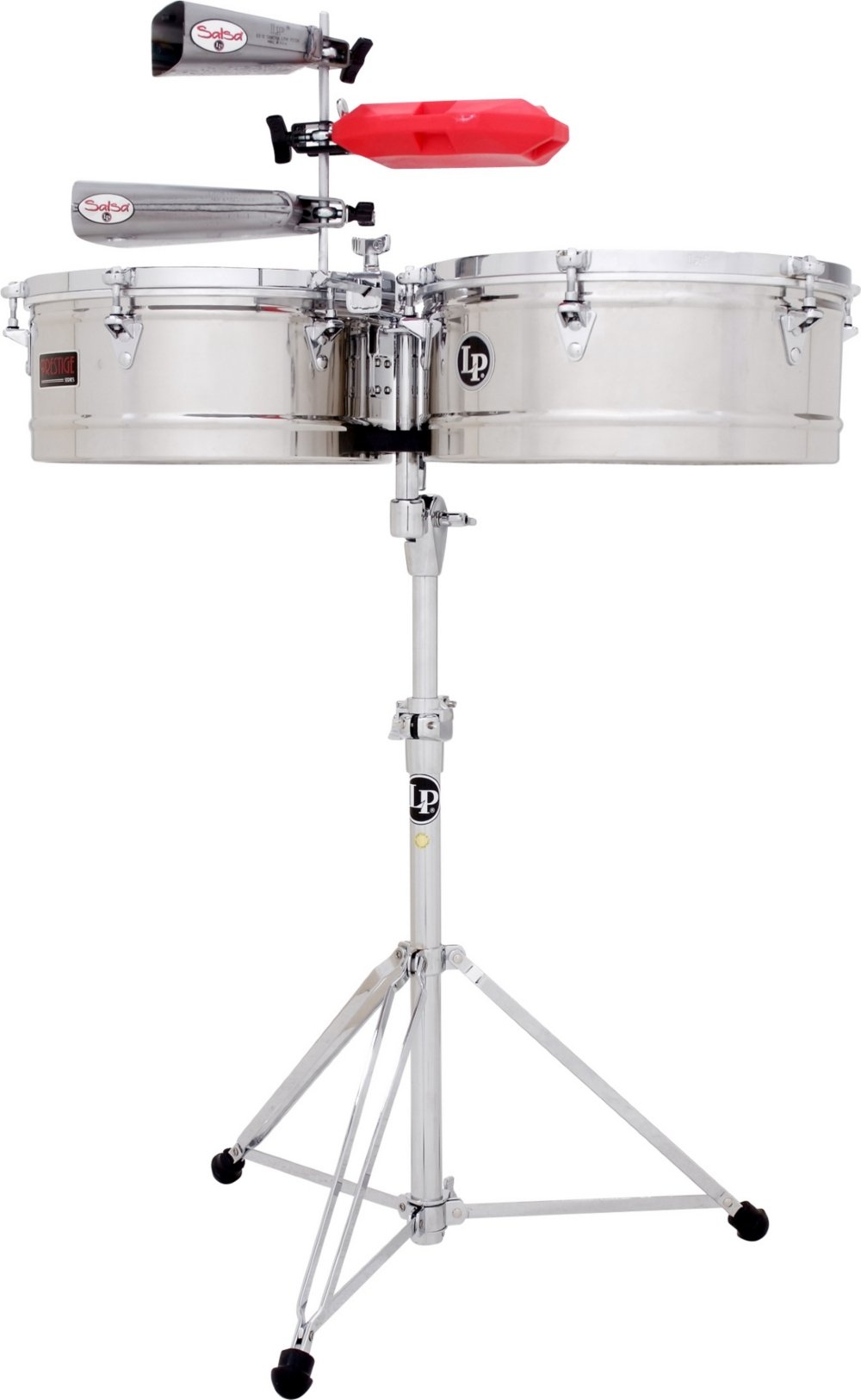Latin Percussion LP1516-S Timbal Stainless Steel