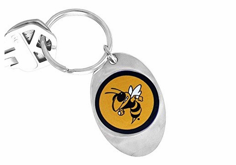 Licensed Georgia Tech ''Yellow Jackets'' Logo Key Chain