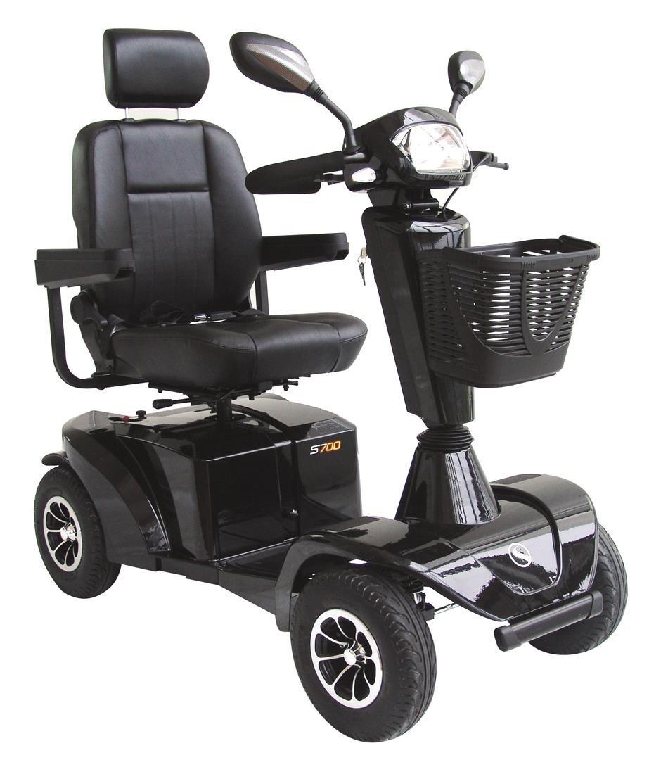 scooter eléctrico buena autonomía asiento cómodo