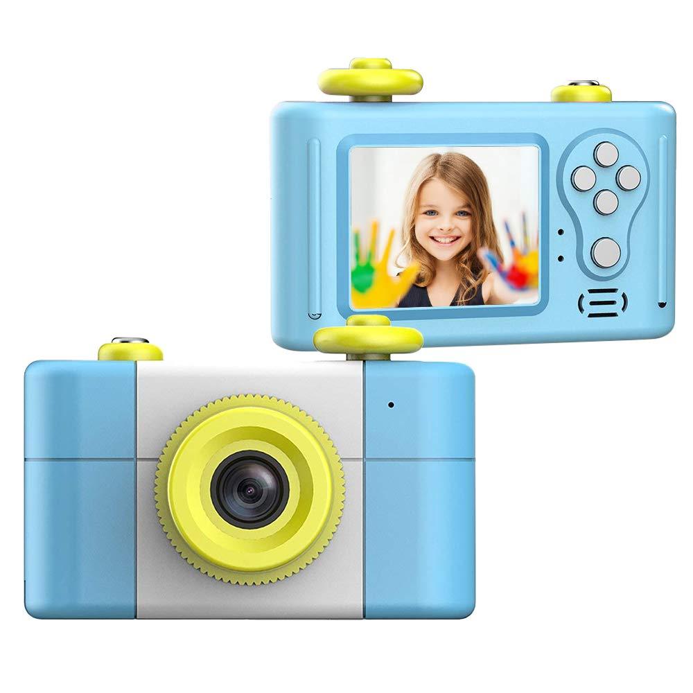 CamKing Kids Children's Camera, 1.5 Inch Screen Mini Digital Camera (Blue) by CamKing (Image #1)