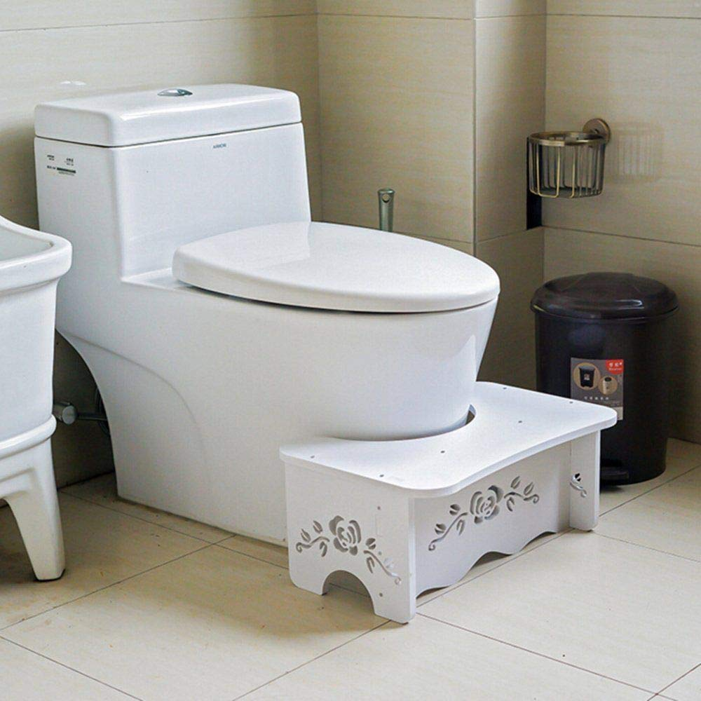NAHASU Dining Tables | Bathroom Toilet Stool Bench for Commode Aid Squatty Step Foot Stool for Potty Help Prevent Constipation