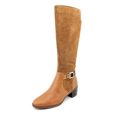 Anne Klein Women's Joetta Cognac/Cognac Boot 7.5 M