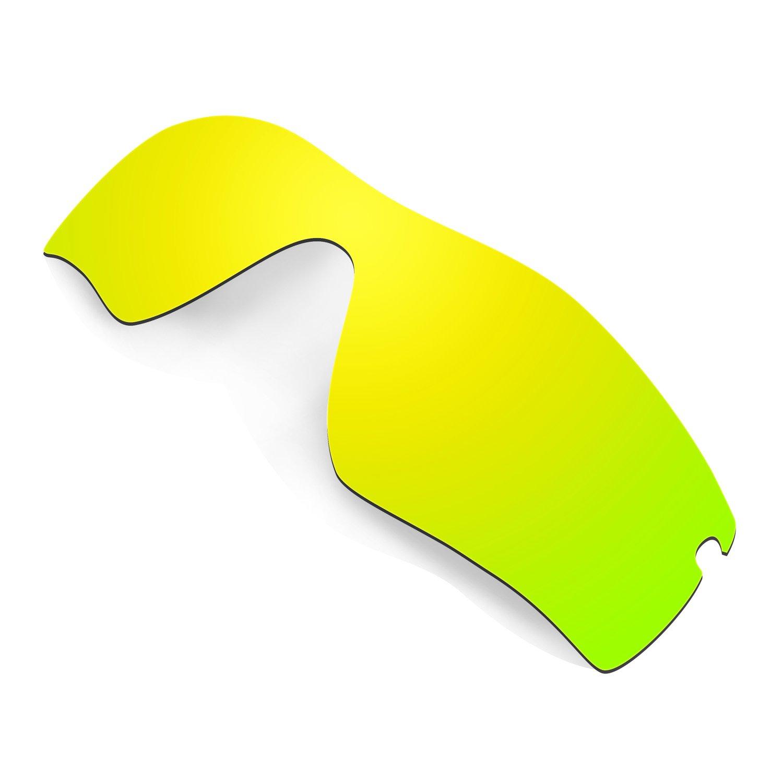 b7c9bfaf4cf Amazon.com  Hkuco Mens Replacement Lenses For Oakley Radar Path Sunglasses  24K Gold Polarized  Clothing