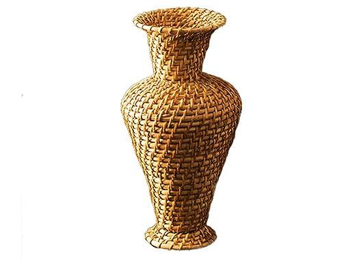 Amazon De Precious Zuckerrohr Blume Vase Vase Blume Vase Aus