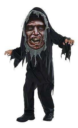 Halloween Zombie Kostüm Für Kinder Medium Amazonde Bekleidung
