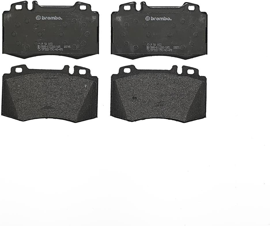 GENUINE BREMBO BRAKES FRONT BRAKE PAD SET BRAKE PADS P50053 BRAKE KIT