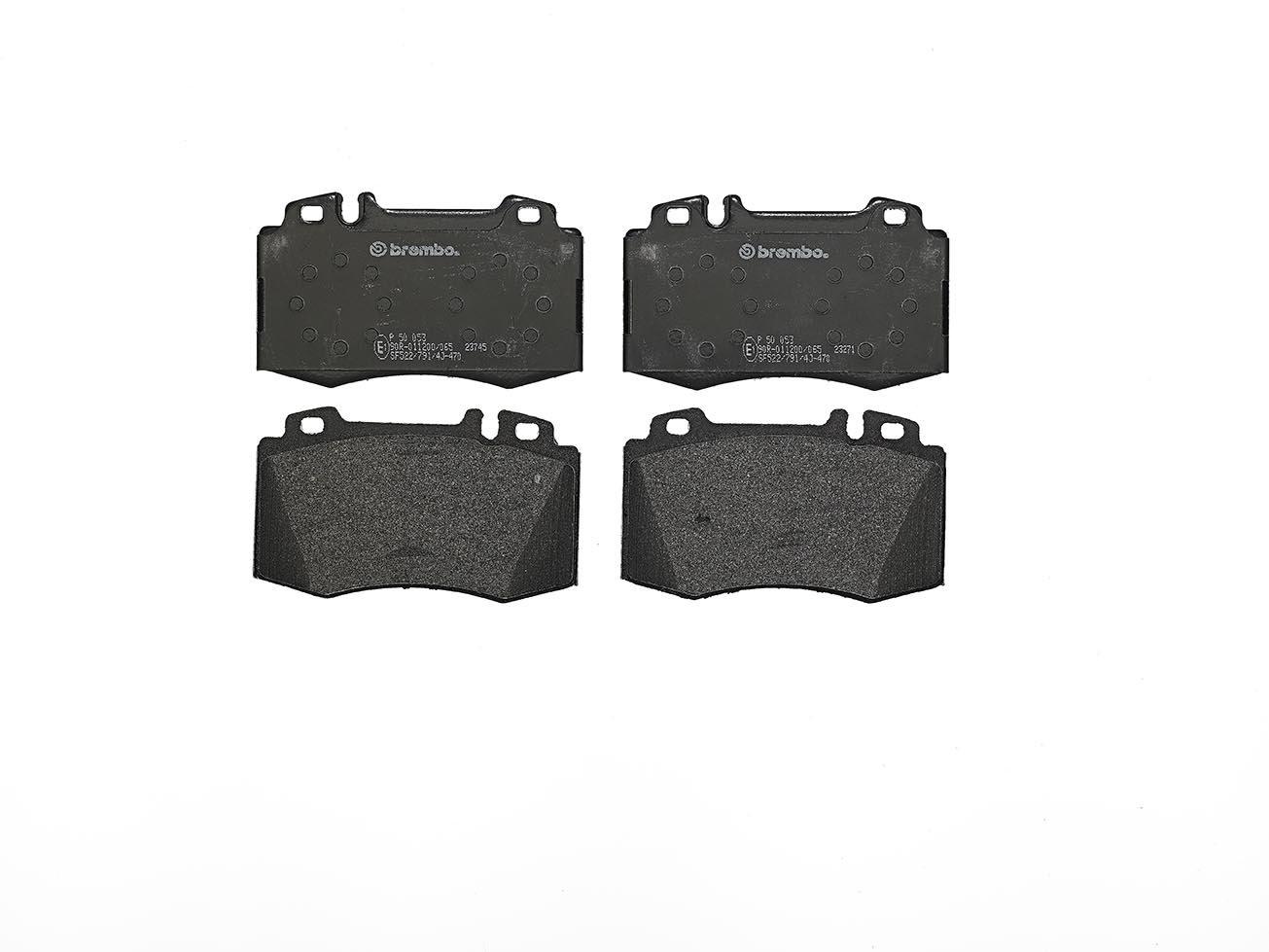 Brembo P50053 Front Disc Brake Pad - Set of 4