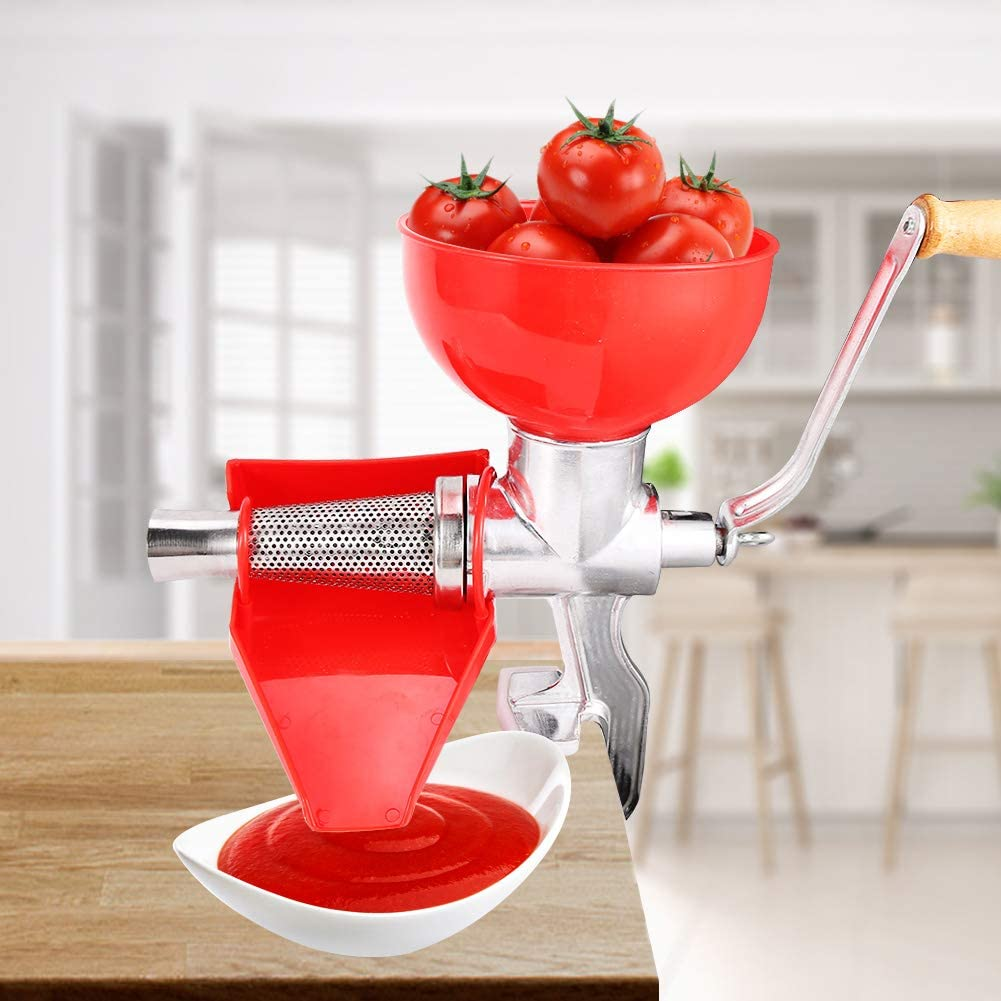 Juicer Machine,Aluminum Alloy Thick Manual Juicer for Fruit Tomato Lemon Orange Vegetables Kitchen Tool
