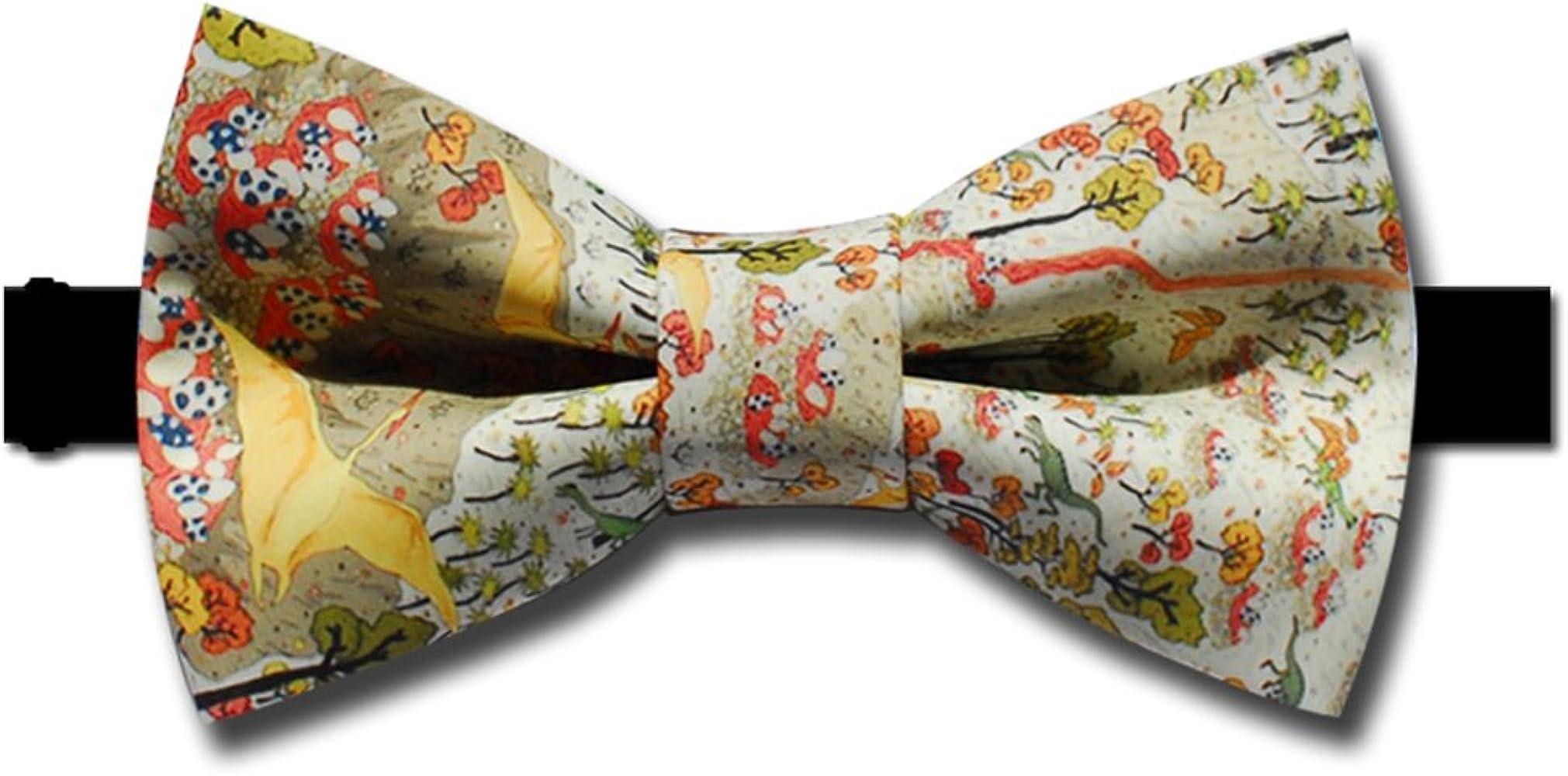 Dise?o De Corbata Dinosaurios Estampados Textiles Pajarita ...