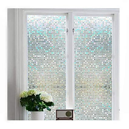 frosted glass window plain soqool stained glass window cling film frosted privacy static for amazoncom