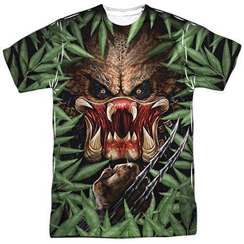 Hidden Threat -- Predator All-Over Front/Back T-Shirt, XX-Large