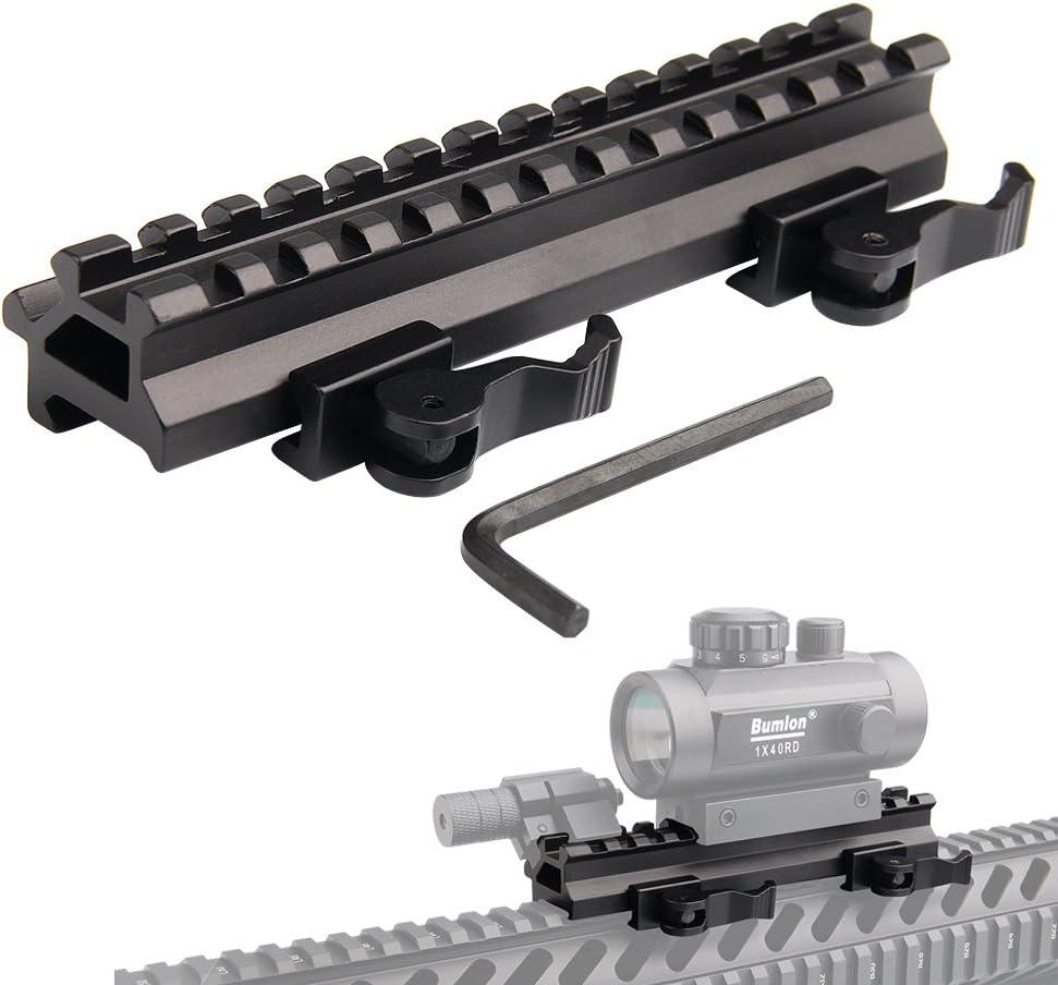 140mm 13Slots 20mm Picatinny Weaver Rail Base Mount For Rifle Sight Hunting