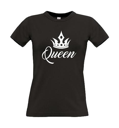 T-shirt donna Queen