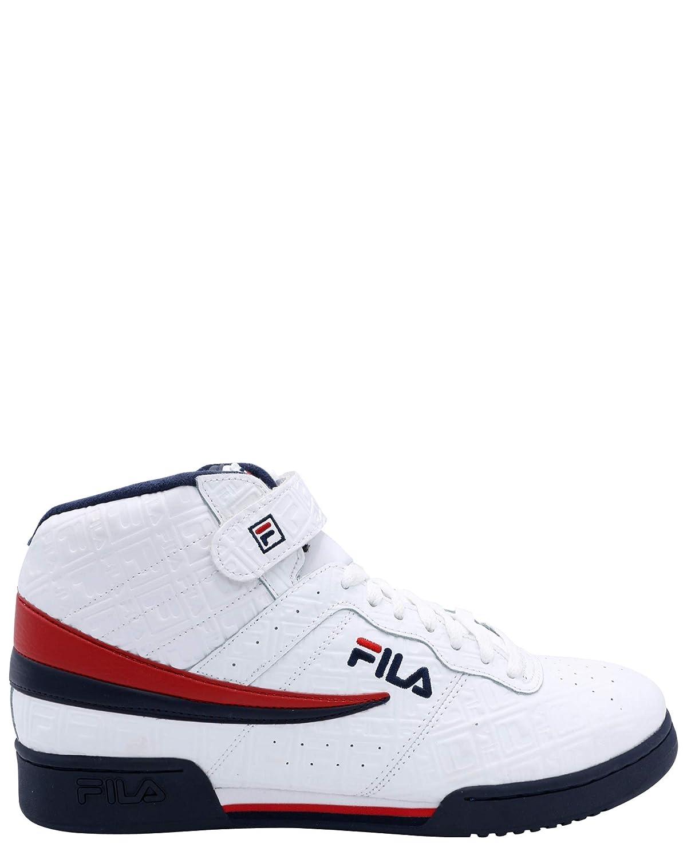 Detalles acerca de Zapatillas para hombre F 13 Pequeño Logo FILA 1FM00117 125 BlancoAzul MarinoRojo mostrar título original