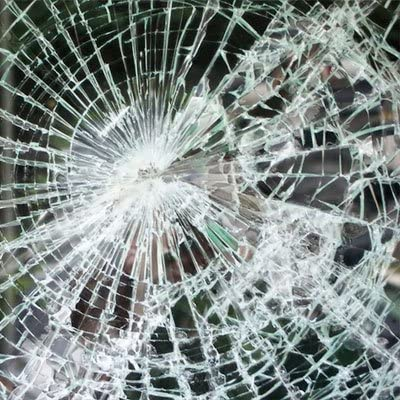 """2 Mil Clear Safety Window Film  24/"""" Wide x 9 ft"""
