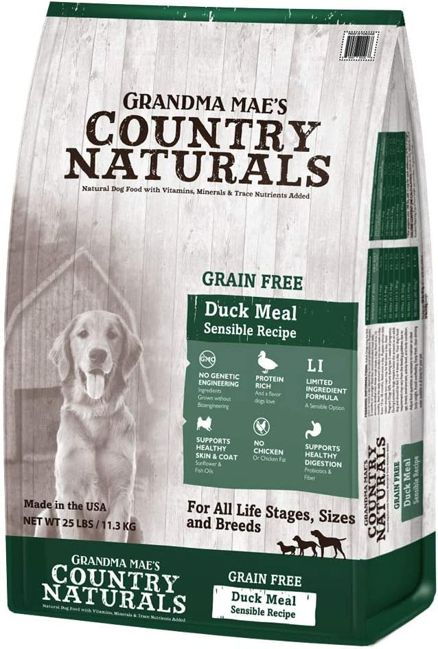 Grandma Mae's Country Naturals Country Naturals Grain Free Limited Ingredient Dog Duck 4 Lb