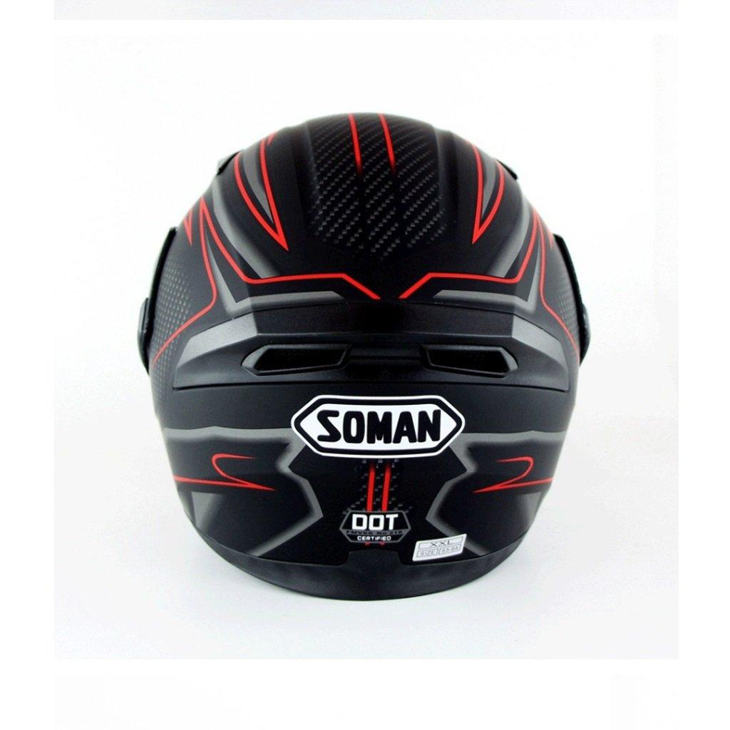 DGF ヘルメットハイグレードオートバイの男性と女性ハイビジョンアンチフォグダブルレンズオープンフェイスヘルメット四季オフロードヘルメットヘルメット (色 : C, サイズ さいず : S s) B07FKSKZ4N S s|C C S s