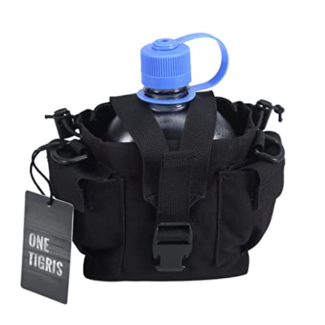 Home New Military Molle Canteen Water Bottle Holder Outdoor Camping Hiking All Portable Belt Carrier Pouch Nylon Bag Less Expensive