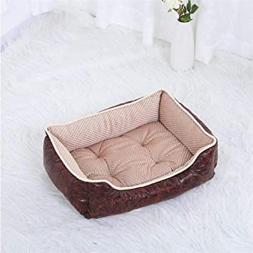 635 Cama para Perros Vintage realzado Ante Terciopelo Pana Mascotas Nido Portable Lavable criadero Gato Nido: Amazon.es: Hogar