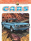 Creative Haven Cars Coloring Book (Adult Coloring)