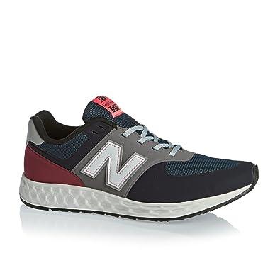 buy online f5445 fdb64 New Balance Men's Mfl574 Br Sneakers Blue Size: 12.5: Amazon ...