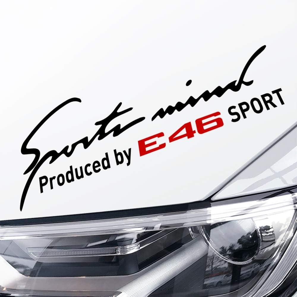 Adesivi Impermeabili per Auto Lampada per Sopracciglia Faro per Auto Sport Styling Decalcomanie per Il Corpo Qwjdsb per BMW E46 Serie 3